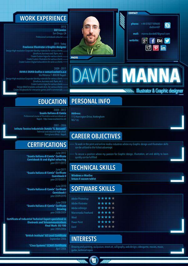Game Designer Cv Jpg 600 928 Graphic Design Resume Resume Design Creative Graphic Resume