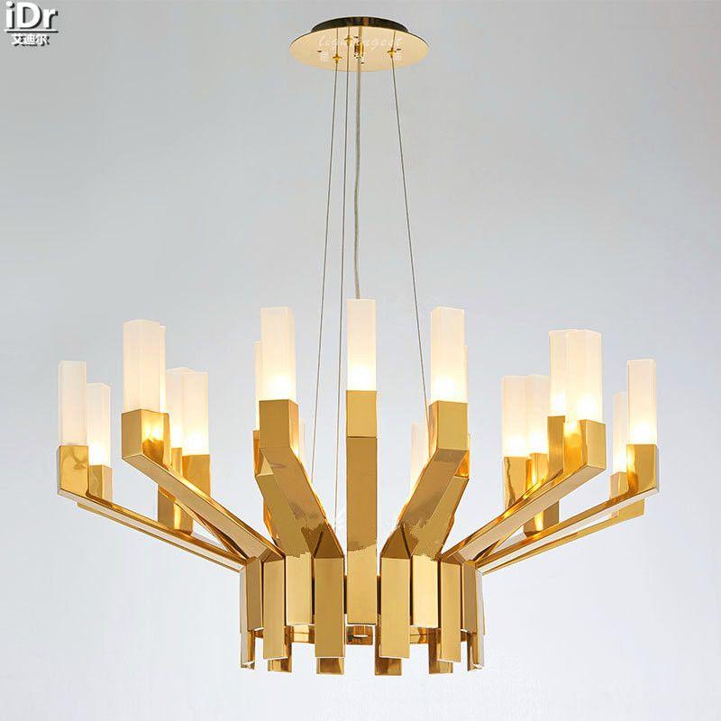 Modern Scandinavian Designers Of The New Long Glass Lamp Creative
