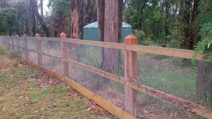 Rural post and rail fencing with wire mesh | Fence Me In | Pinterest