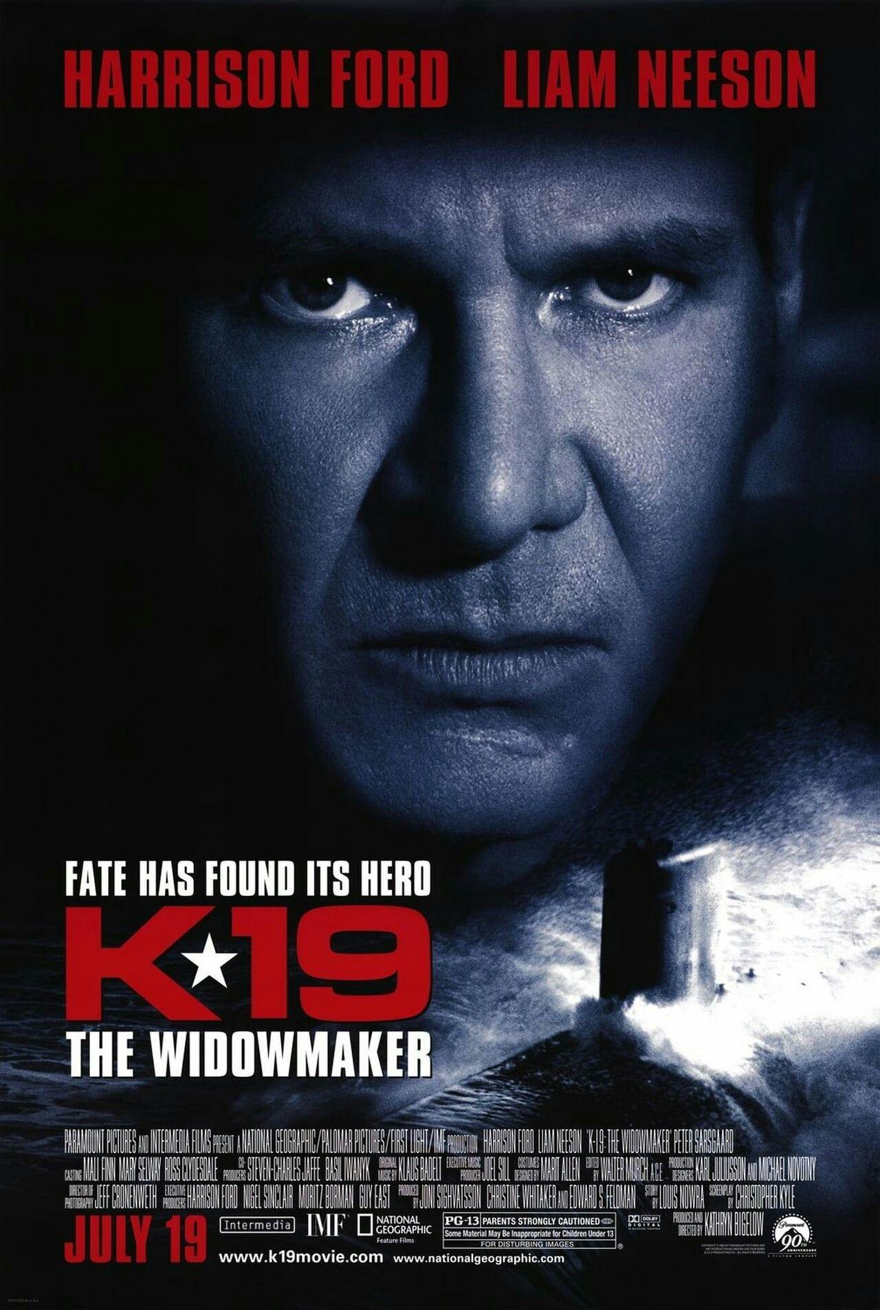 K 19 The Widowmaker 2002 Peliculas Belicas Peliculas Cine Portadas De Peliculas