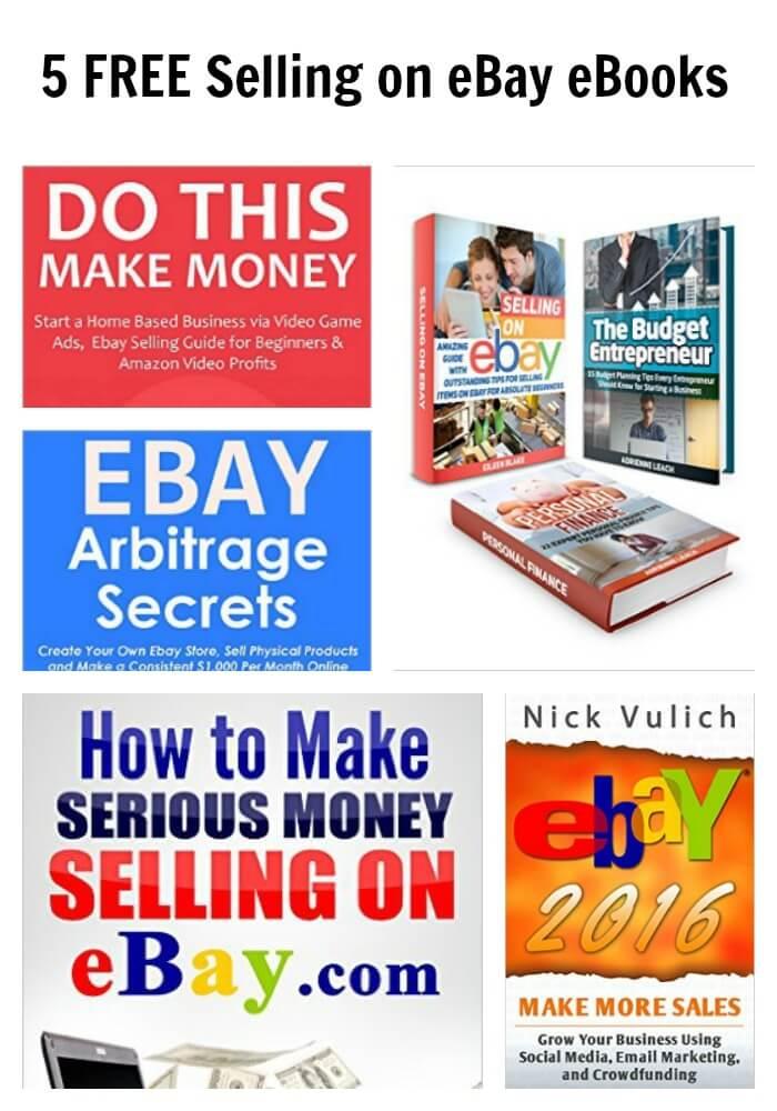 5 FREE Selling on eBay eBooks Selling on ebay, Making