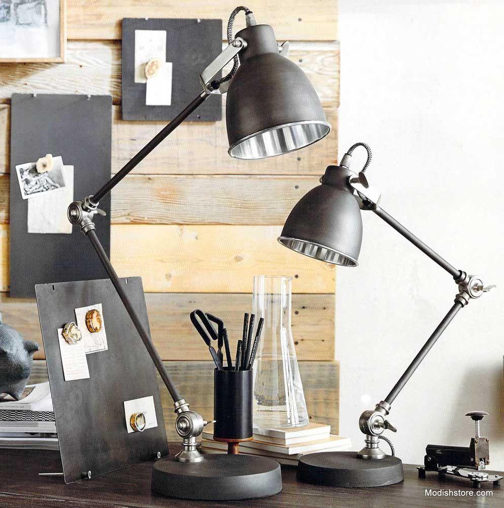 Roost berkeley desk lamp desk lamp desks and polished nickel