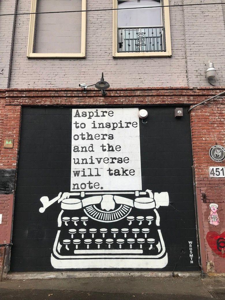Street Art LA Street art quotes, Art district los
