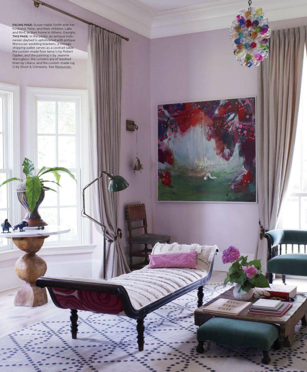 Elle Decor May 2013 Susan Hable Smith inspiring interiors