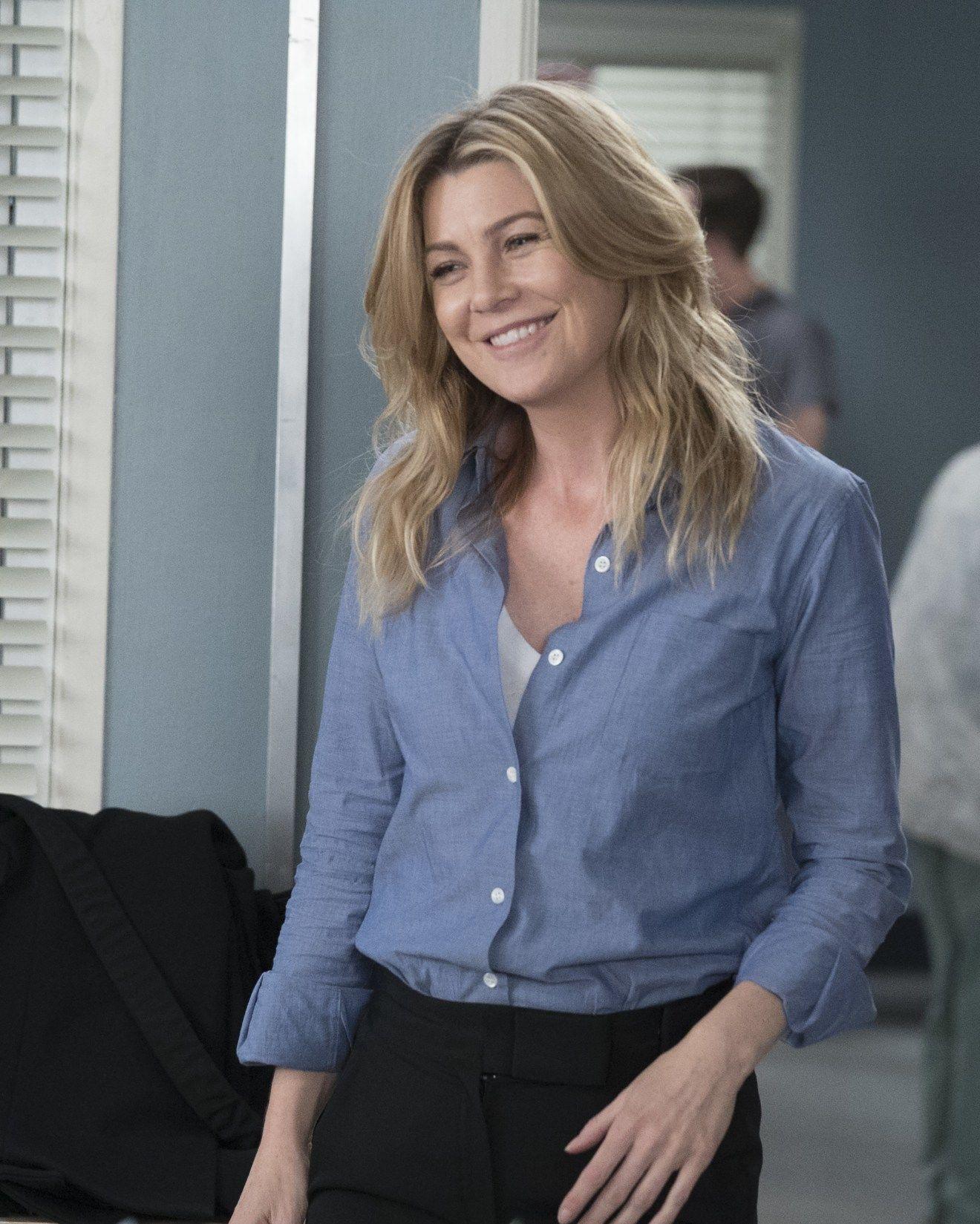 "ELLEN POMPEO as Meredith Grey – GREY'S ANATOMY – ""One Day Like This"" #greysanatomy"