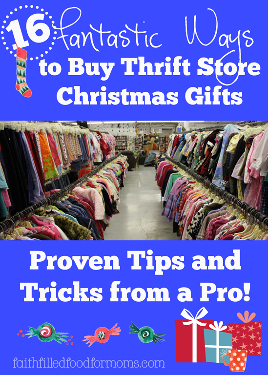 16 Fantastic Ways to Buy Thrift Store Christmas Gifts | Pinterest ...