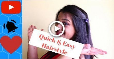 #Easy Hairstyles quick #easy #simple #faule #Hairstyle #hairpin   – all