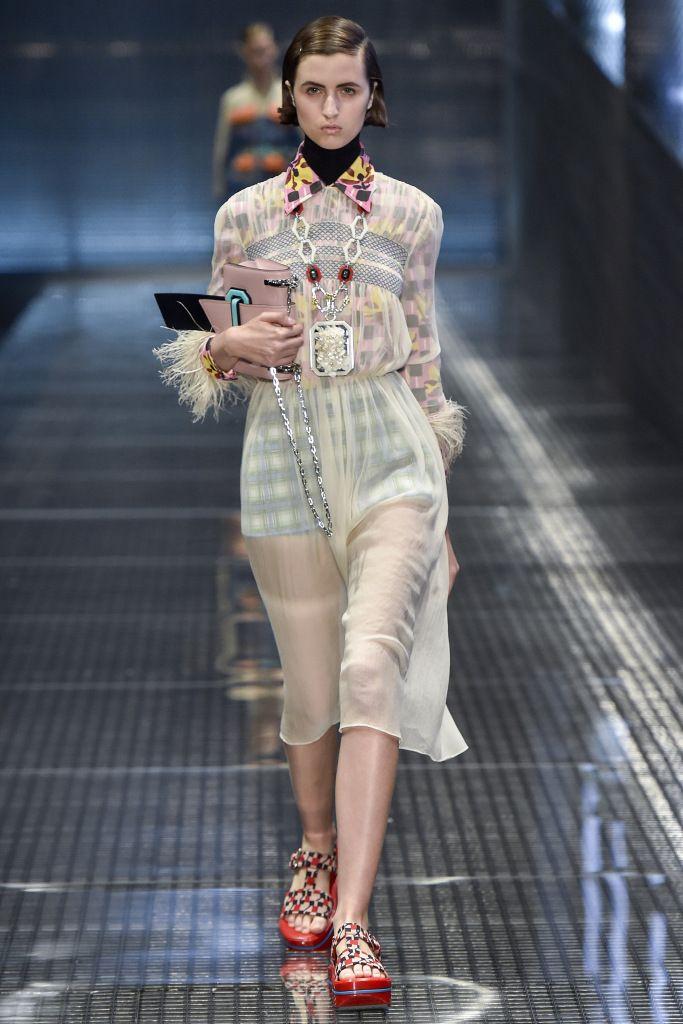 Prada весна-лето 2017 на Неделе моды Милане