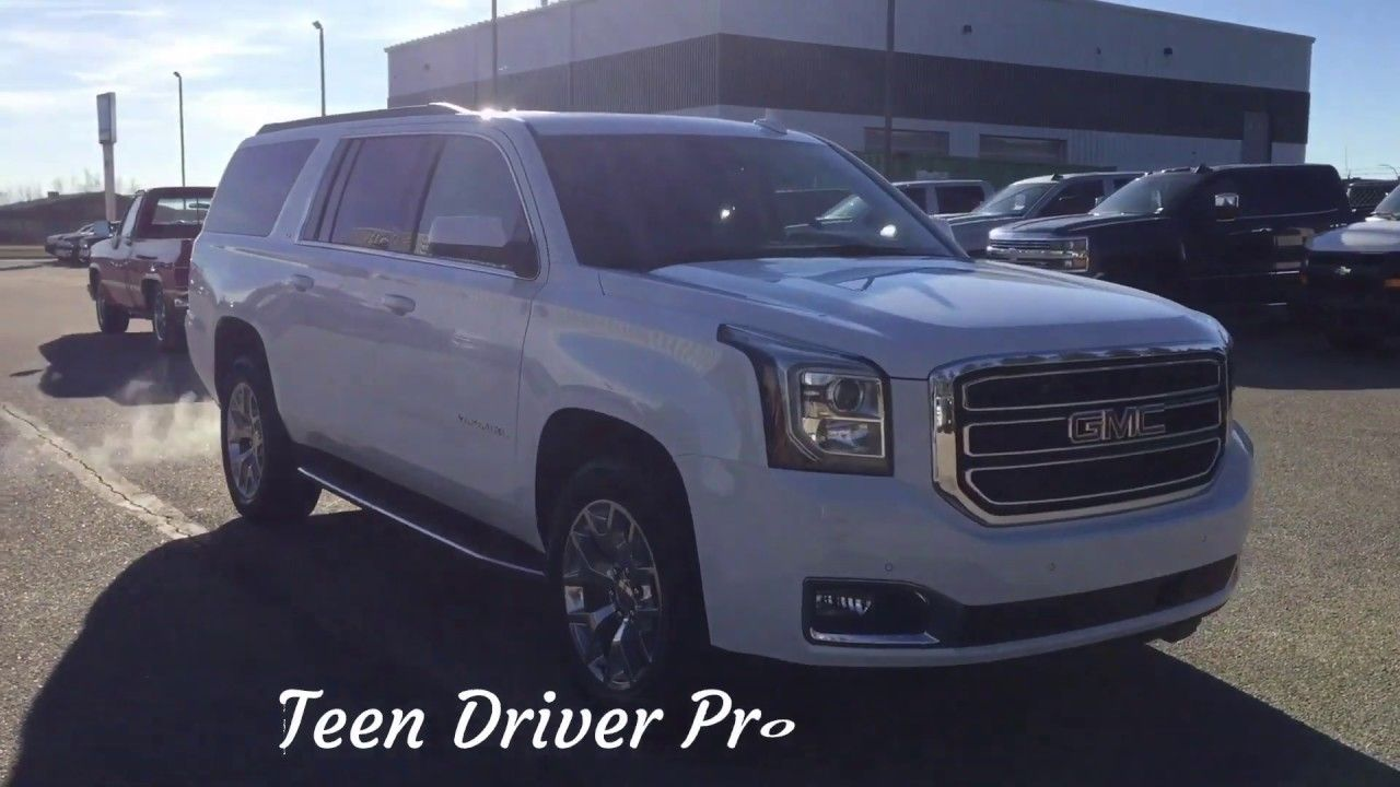 Used 2018 Gmc Yukon Xl For Sale White 4x4 18p045 With Images