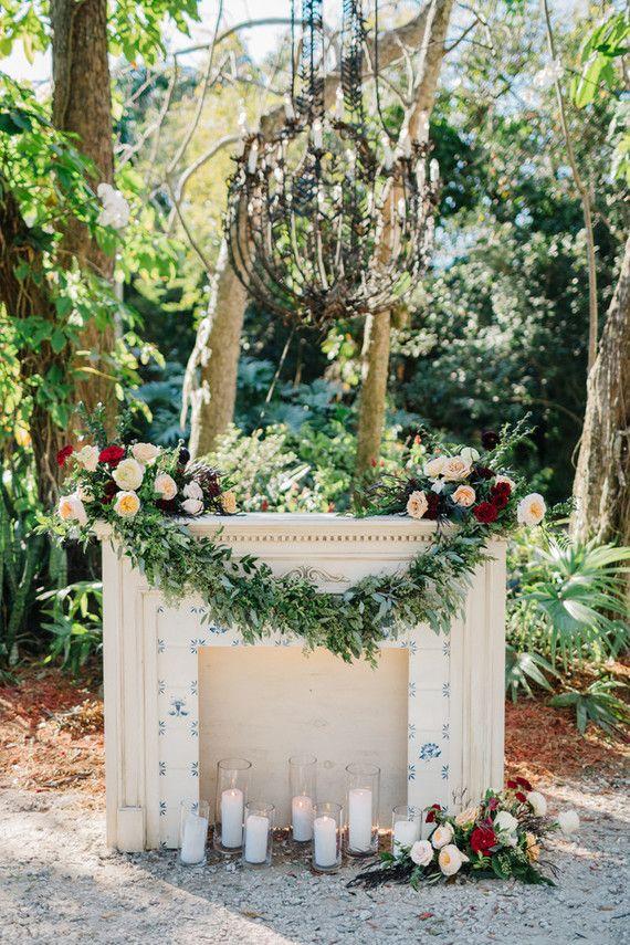 Eclectic Garden Wedding In Vero Beach Florida