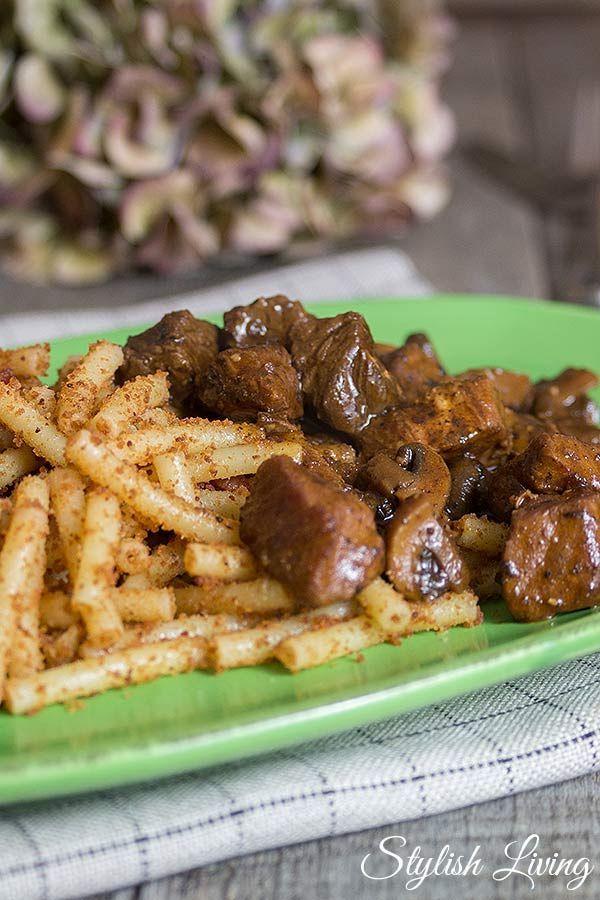 Weltbestes Gulasch mit Schinkenmaccaroni #gulaschrezept