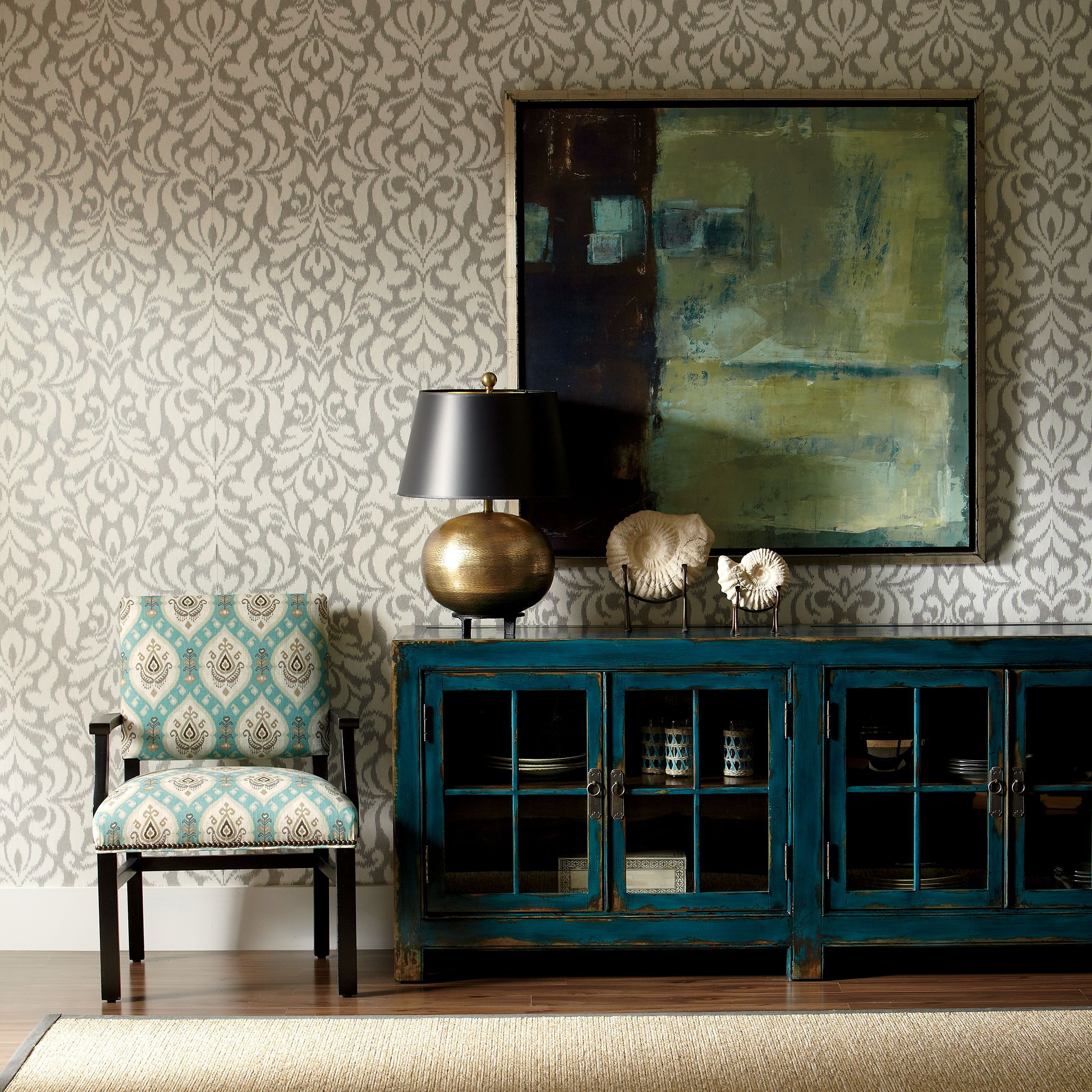Ming Media Cabinet For Buffet Sideboard