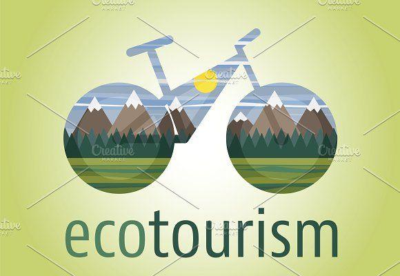 Eco Tourism Icon And Logo Tourism Design Ecotourism Tourism Logo