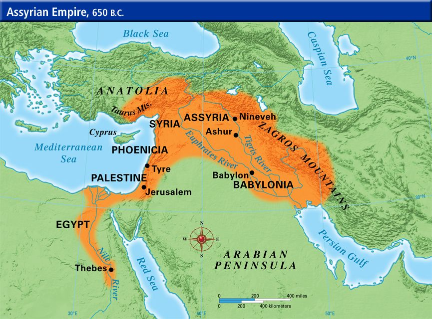Assyrian Empire Map   Google Search | Maps of Ancient Empires