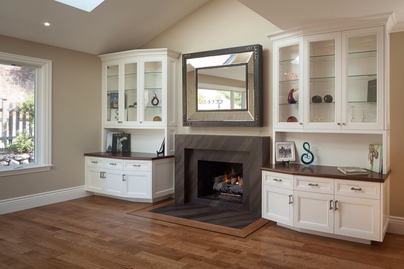 Built In Cabinet With Granite Top Built In Cabinets Fireplace Built Ins Custom Fireplace