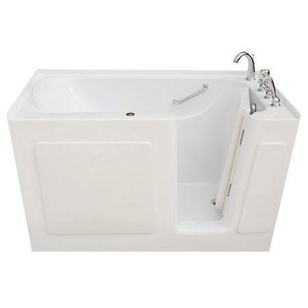 Signature Walk In White 50 X 31 Inch White Whirlpool Bath Modern