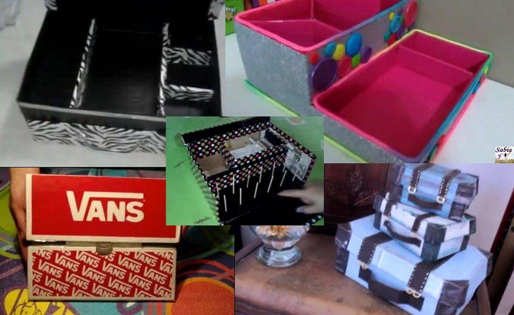 5 razones por las que guardar las cajas de los zapatos a - Manualidades con cajas de zapatos ...