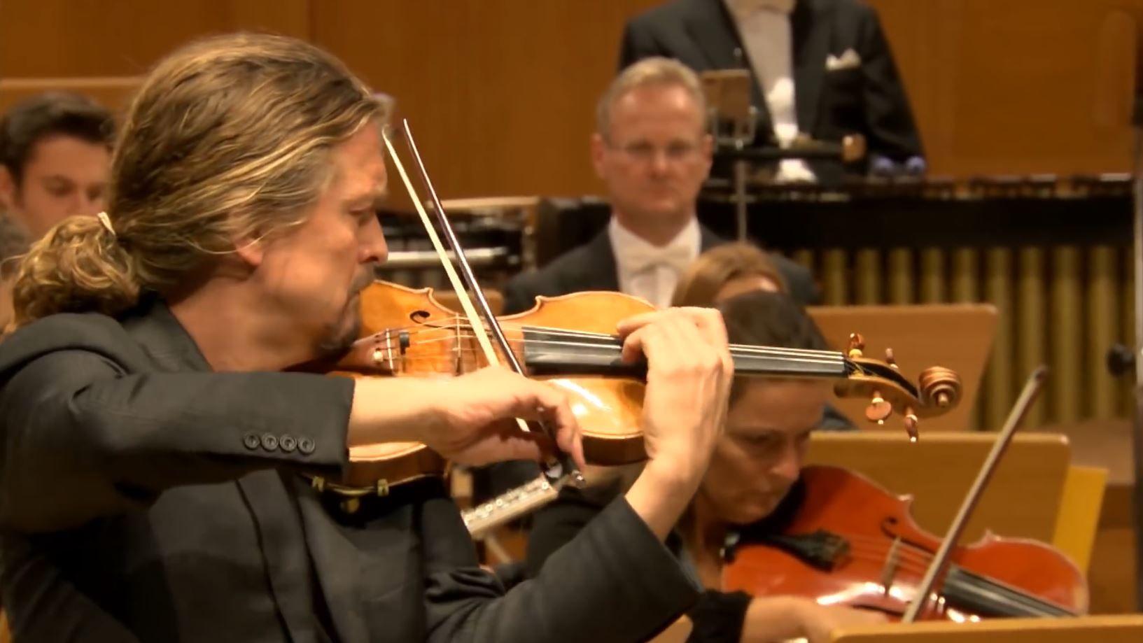 Gyorgy Ligeti Violin Concerto Christian Tetzlaff Gurzenich Orchester Koln Francois Xavier Roth Classical Music Concert Violin