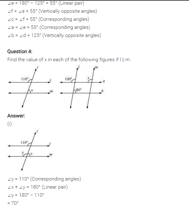 Ncert Solutions For Class 7 Maths Lines And Angles Exercise 5 2 03 Ncertsolutions Cbseclass7maths Ncertclass7 Maths Solutions Maths Ncert Solutions Math