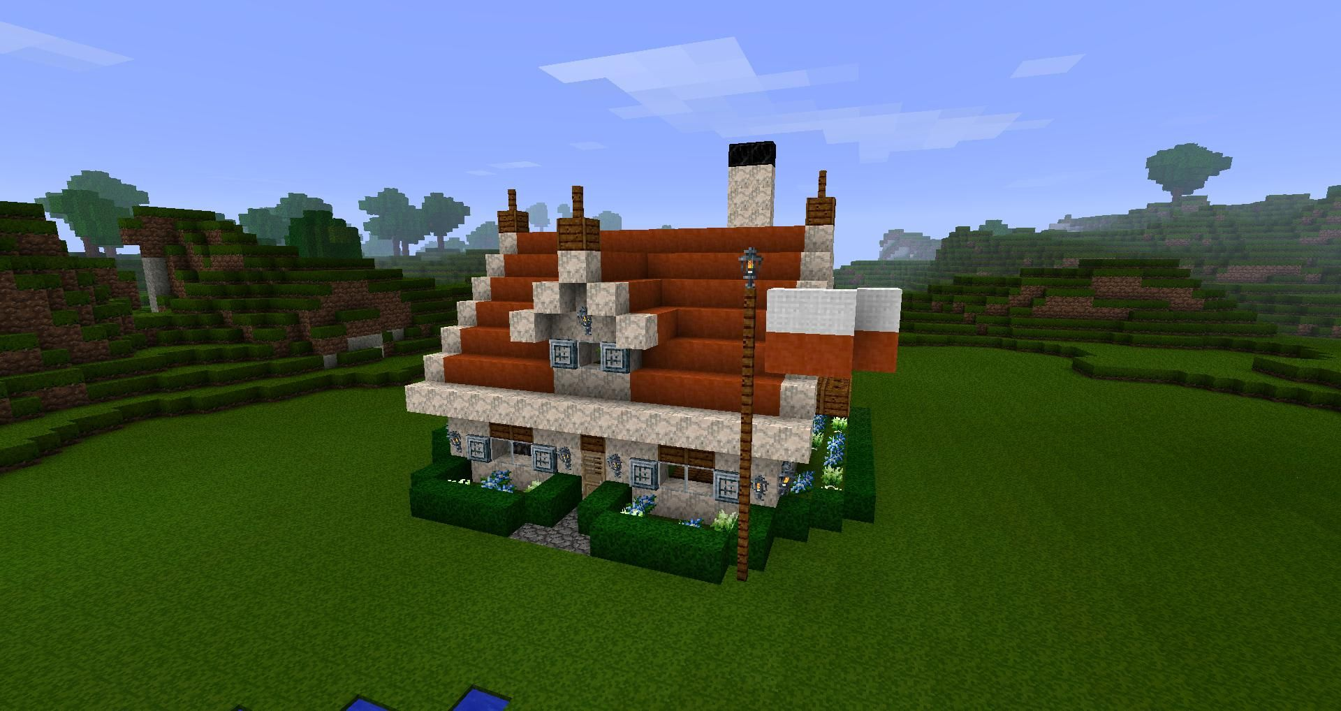 Cool Small Minecraft Houses Furthermore Survival House Fancy In