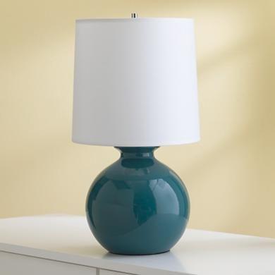 Teal Gumball Table Lamps Lamp Table Lamp Kids Desk Lamp