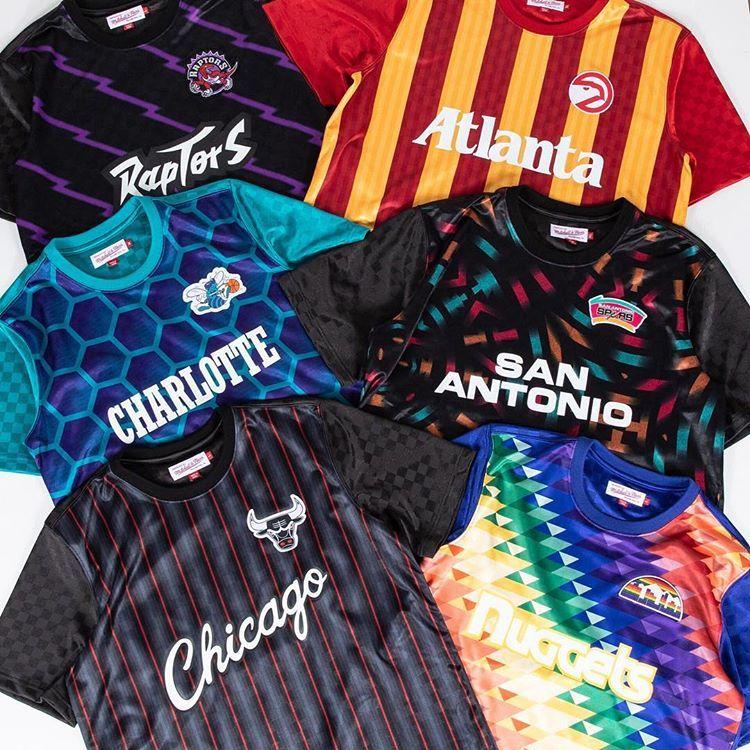 The Mitchell Ness Soccer X Nba Jerseys Basketball Jersey Outfit Football Kits Sports Uniform Design
