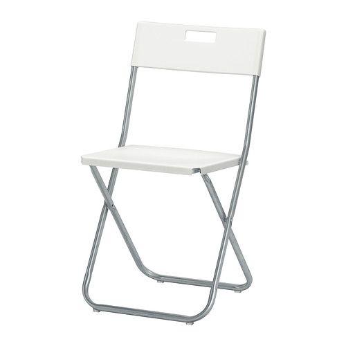 Gunde Folding Chair White Ikea Folding Chairs Folding Chair White Folding Chairs