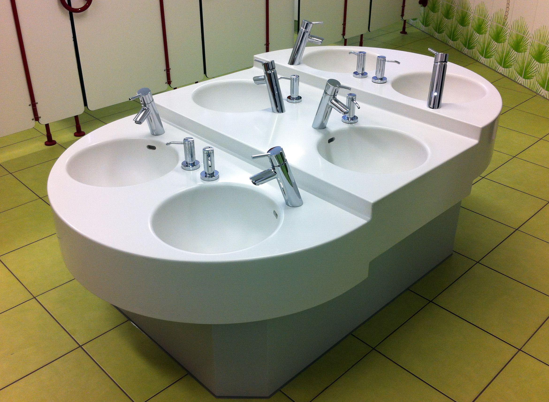 Insellosung Oberwolfach Sink Design Kids Classroom Kindergarden