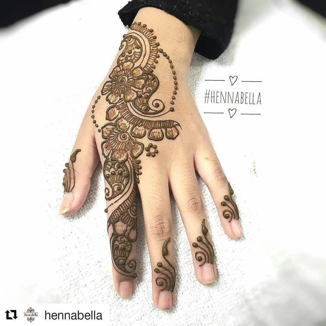 Follow Hennafamily Hennafamily Repost Hennabella Simple Floral