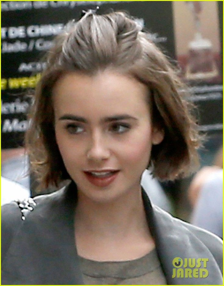 Lily Collins Short Hair Google Search Hair To Have