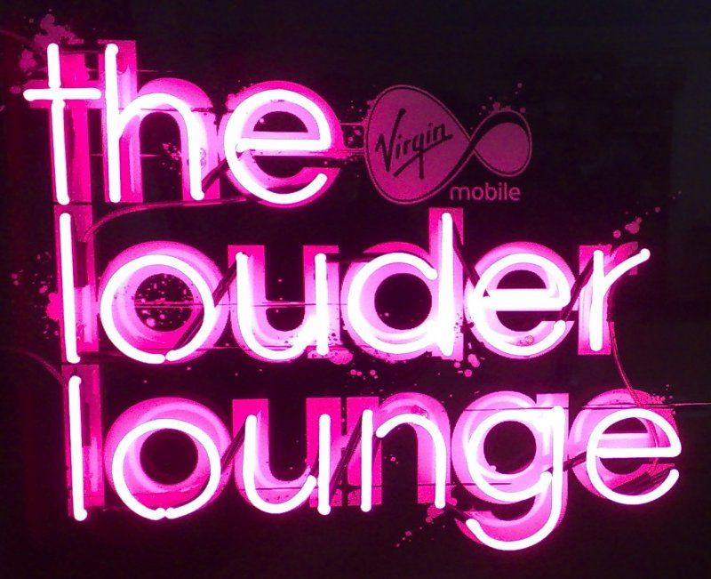 Louder lounge neon signs uk neon signs business signs