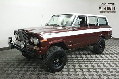 Classic Jeep Grand Wagoneers For Sale Autotrader Classics Jeep