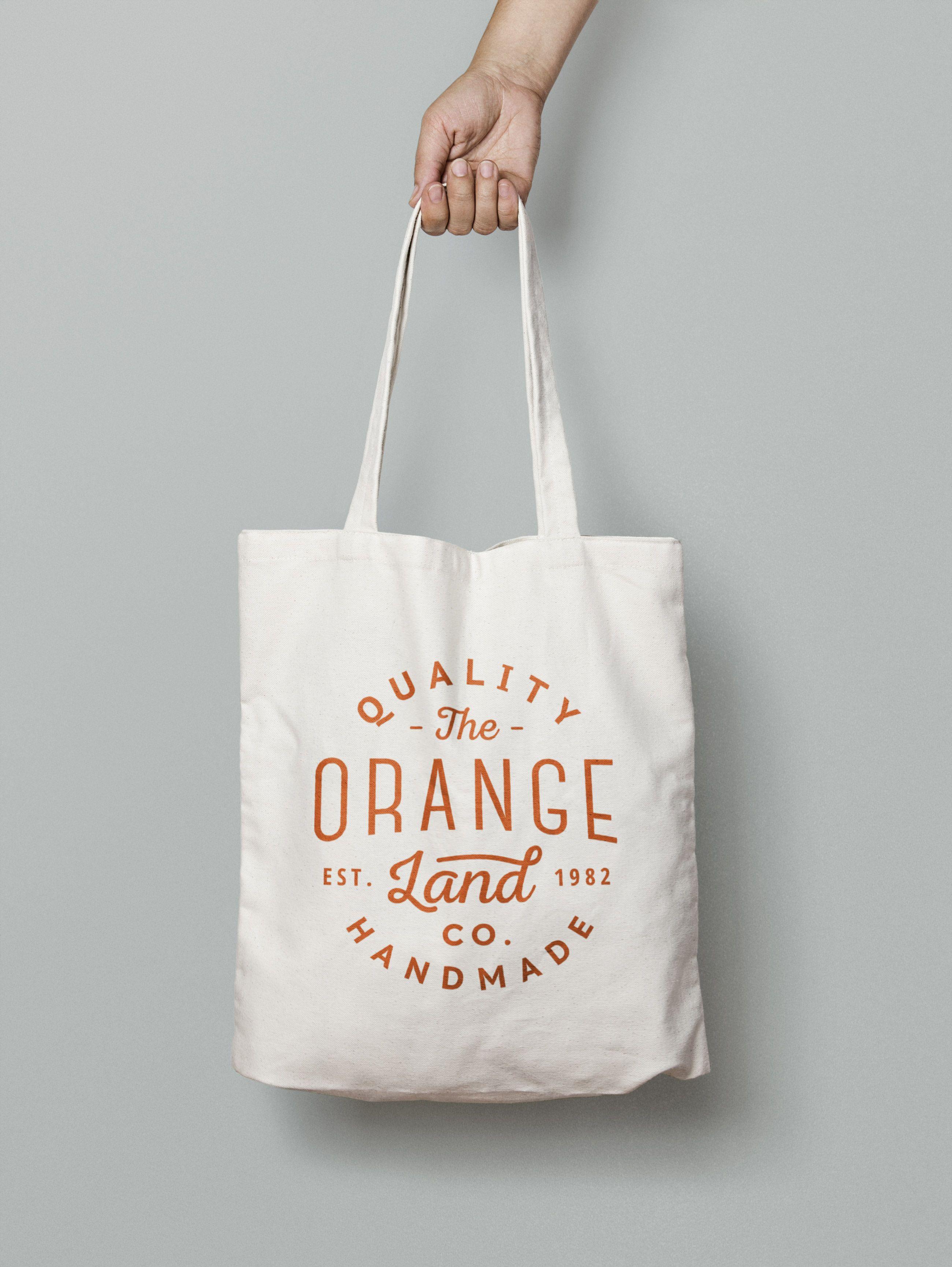 76b03818b5c8 A high quality canvas tote bag mock-up which you may use freely to showcase  your branding design in a photorealistic manner. Apply your design on the  tote ...
