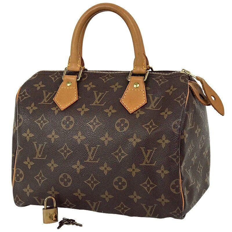 14d89ef2a9c3 eBay  Sponsored LOUIS VUITTON Speedy 25 handbag Monogram Ladies ...