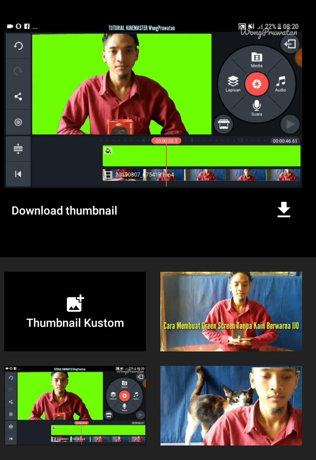 Cara Bikin Green Screen Tanpa Kain Hijau Hijau Warna Video