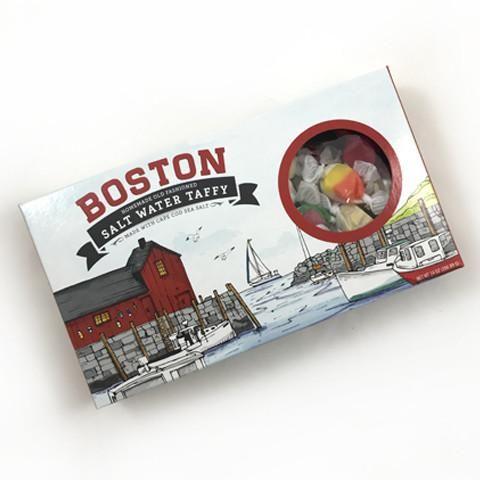 Boston salt water taffy wedding welcome gifts