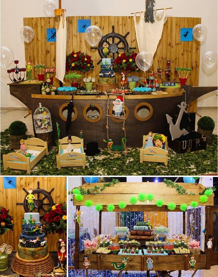 Matrimonio Tema Peter Pan : Peter pan ideas boda pinterest piratas mesa de