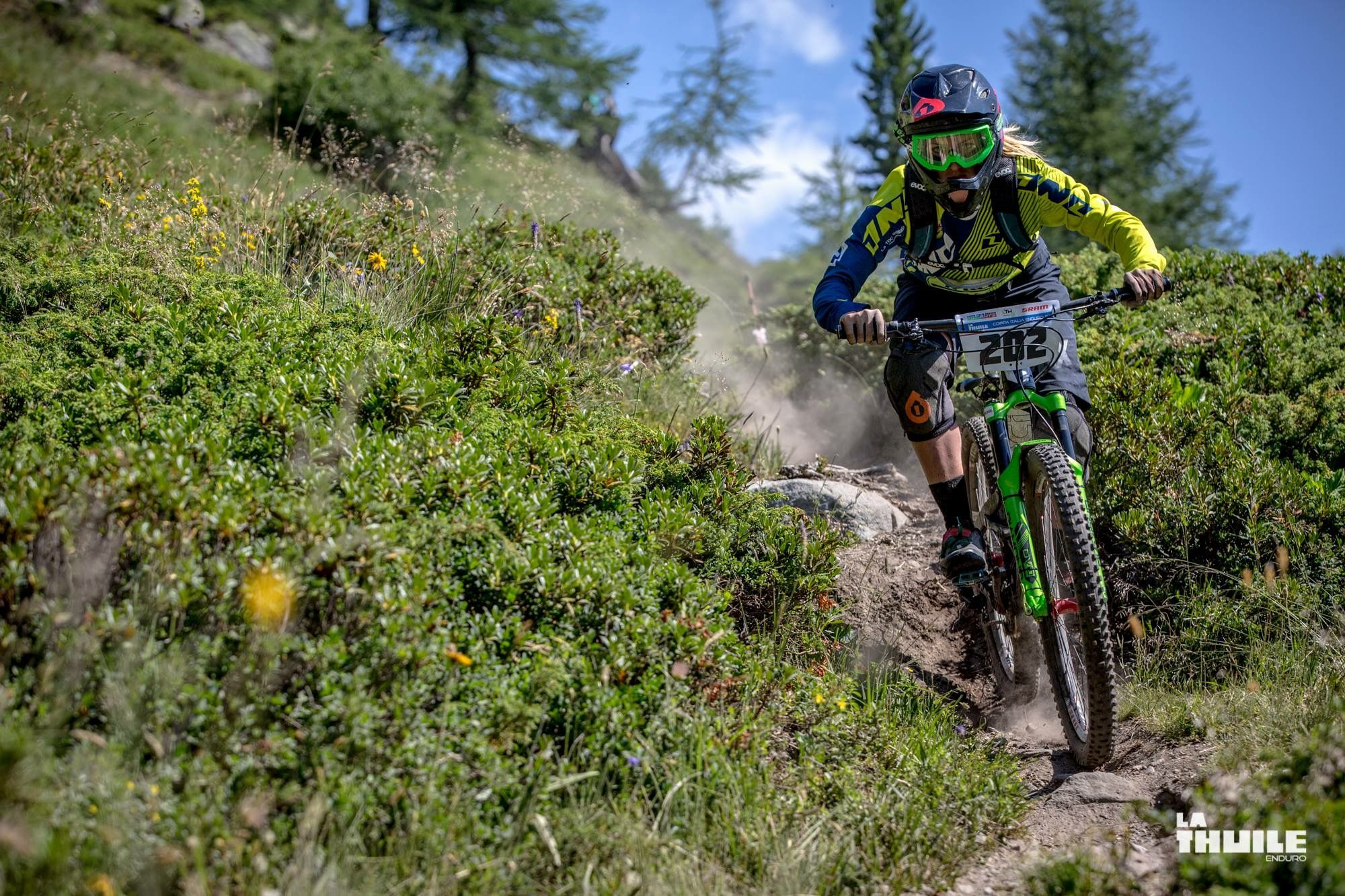 La Thuile Valle d'Aosta  Summer time!  Perfect destination for a day on the Enduro World Series trails!