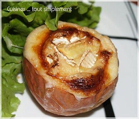 Pomme Camembert Au Four Avec Images Pommes Au Four Recette A