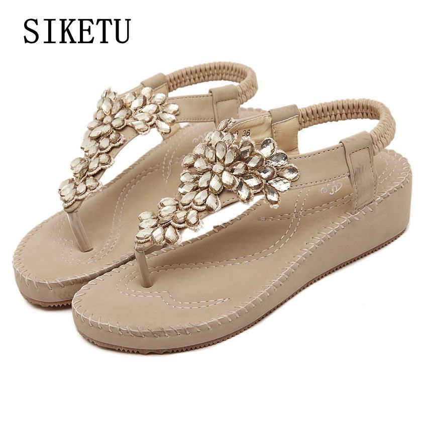 Summer new women fashion sandals sweet students sandals casual comfortable women  sandals soft-end large-size women shoes39 40 137b0dbe8934