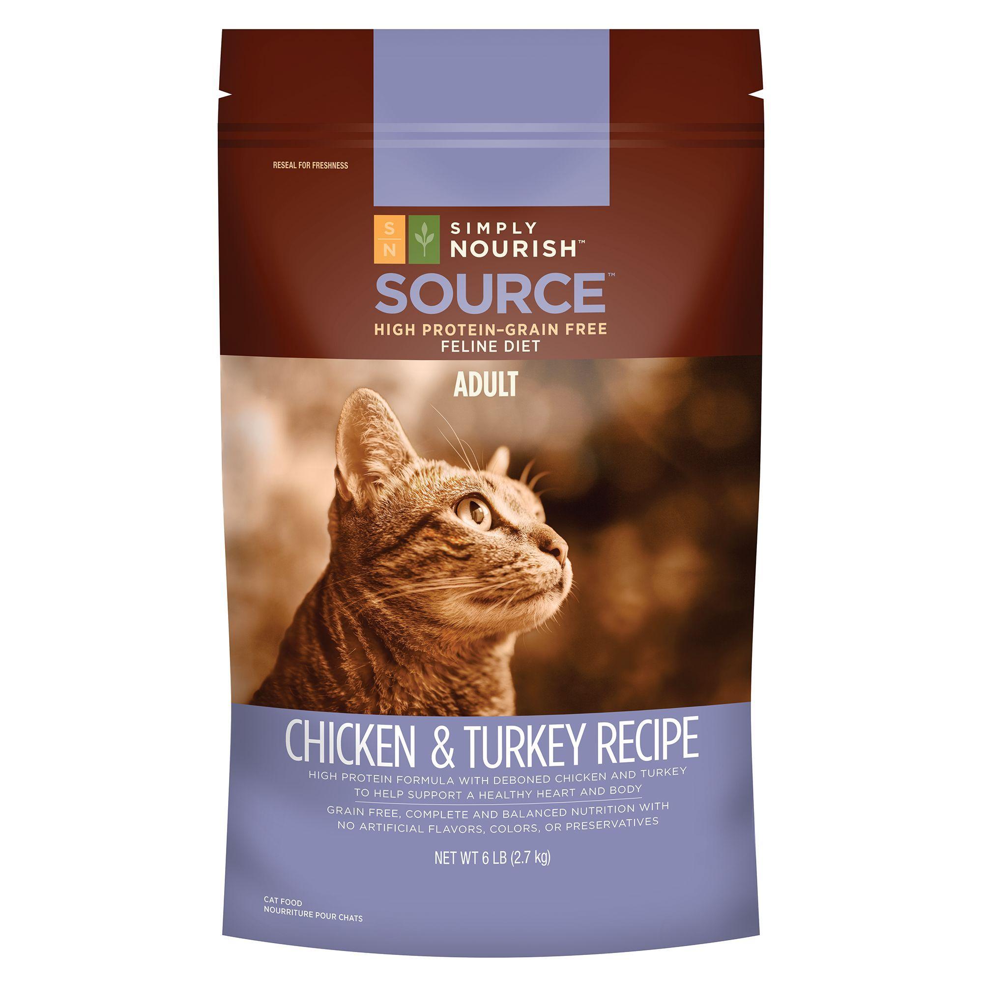 Simply Nourish, SOURCE Adult Cat Food Natural, Grain