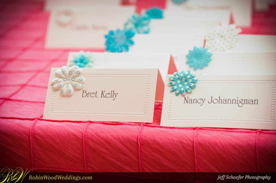 Signature Reception Place Cards #weddingplacecards