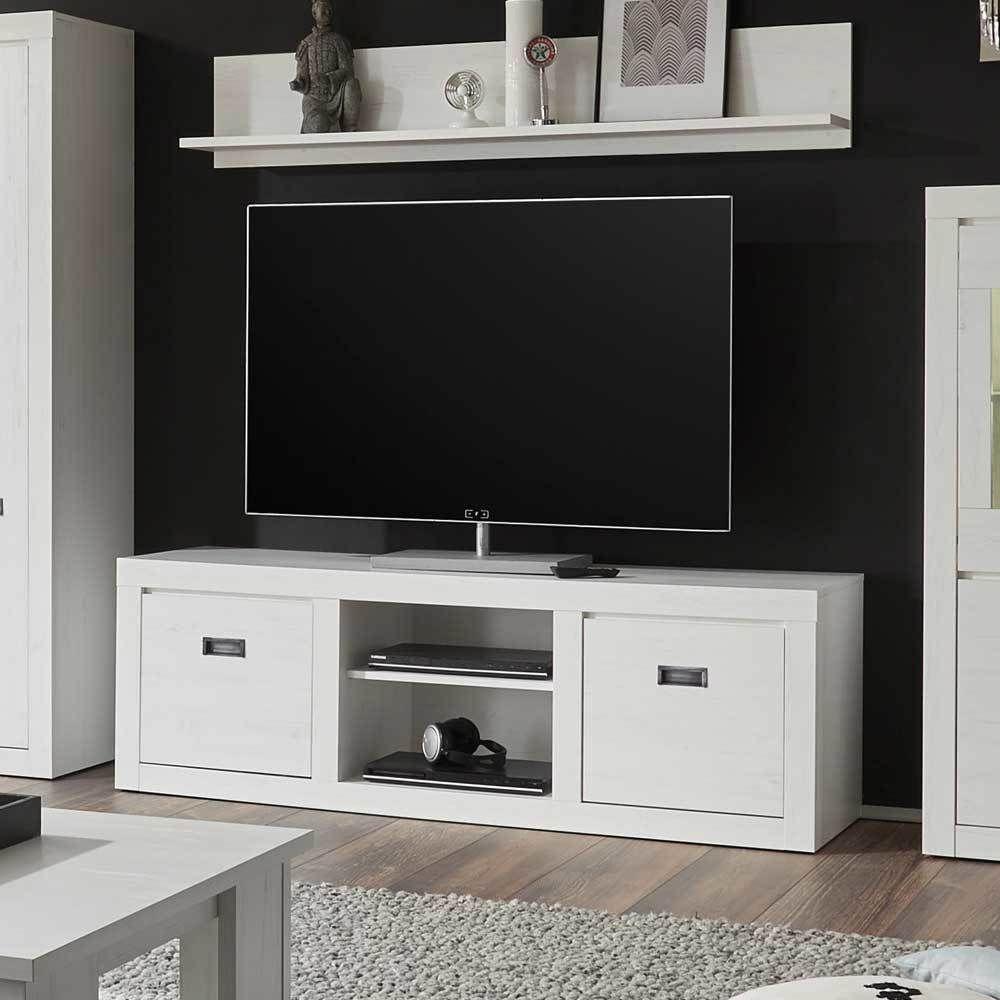 TV Unterschrank in Weiß Pinie modern Jetzt bestellen unter s