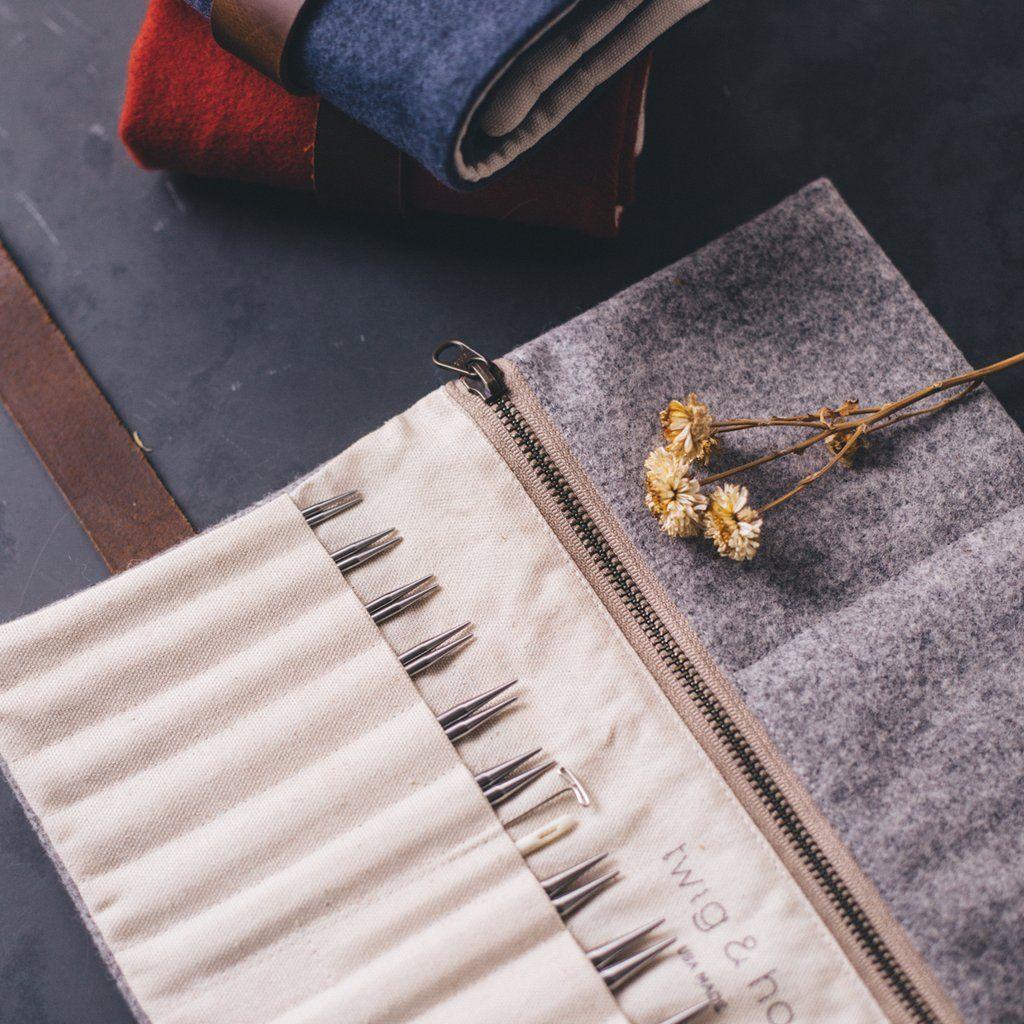 Standard Wool Interchangeable Needle Case in 2020 ...
