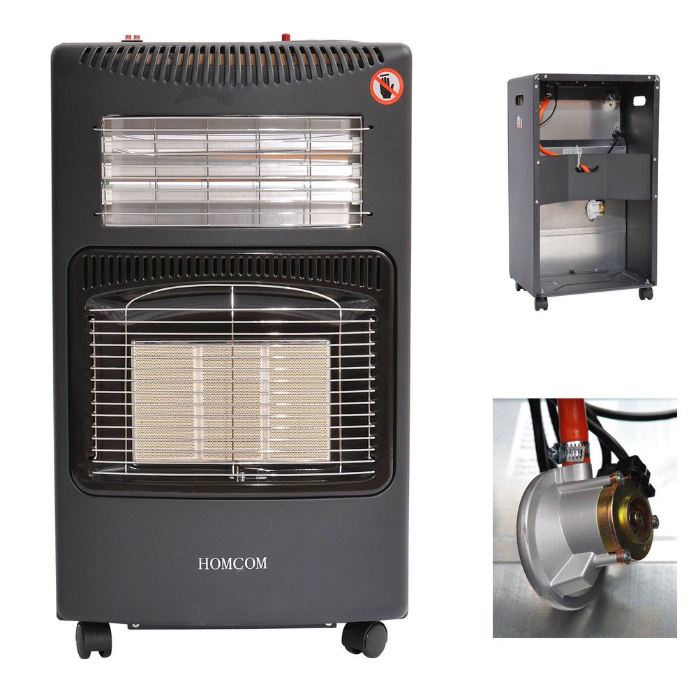4 2kw Calor Gas Electric Cabinet Heater Portable Furnace Butane