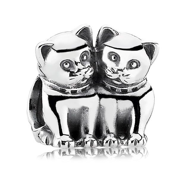 Pandora Purrfect Together Cat Charm 45 For Savana Products I Love