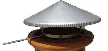 Chiminea Spark Lid One Size Fits All