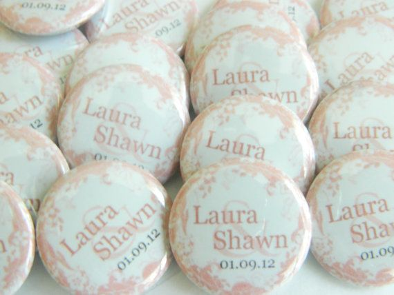 Wedding Favor Magnets  Set of 25 1 inch Magnets by iLoveTrinkets, $33.00