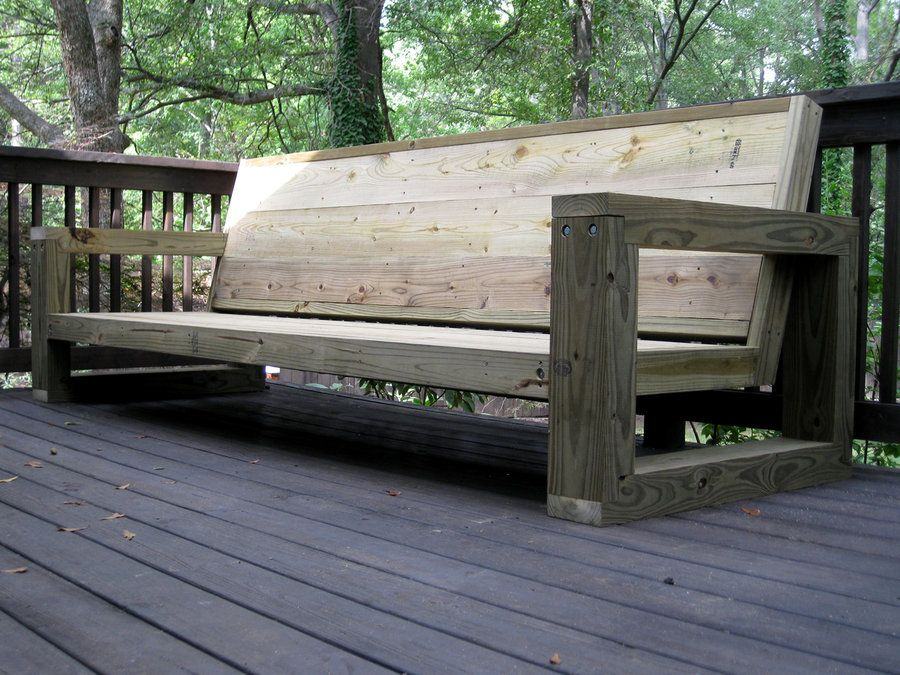 Outdoor Sectional Couch   By Ben Robinson @ LumberJocks.com ~ Woodworking  Community
