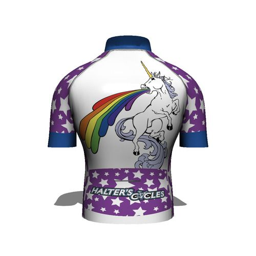 Halters Cycles Unicorn Cycling Jersey...  de63390db